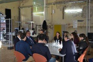 Bayerns Wirtschaftsstaatssekretär Pschierer trifft Start-up Teams © Allgäu GmbH