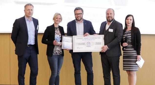 Standort-Award Preisverleihung in Frankfurt