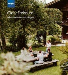 Titelbild Mehr Freiraum Broschüre © Allgäu GmbH, Isenhoffs Büro