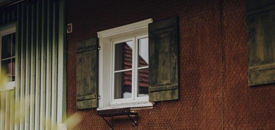 typisch für das Westallgäu: die geschindelte Fassade © Allgäu GmbH, Philip Herzhoff