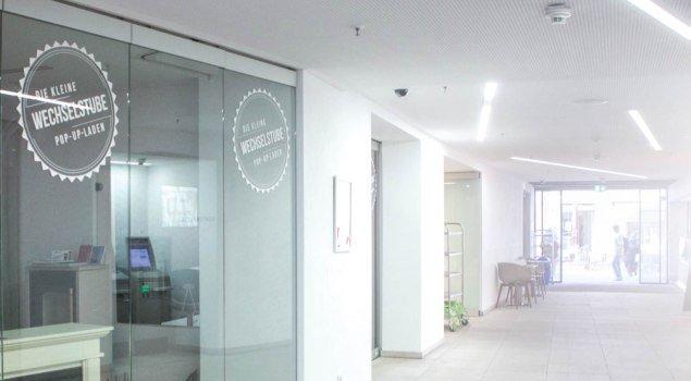 kleine Wechselstube © PASSION & MOUNTAINS Buero für Konzept & Design