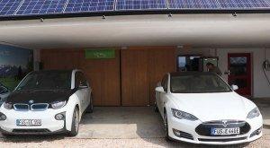 Elektroautos für die Gäste, © Biohotel Eggensberger