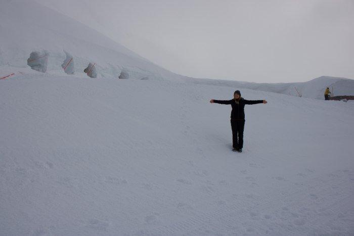 Ganz schön verloren sehe ich aus in den Schneemassen © Allgäu GmbH