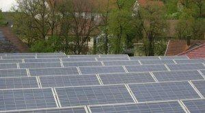 PV-Anlagen auf dem Dach, © Brauerei Härle
