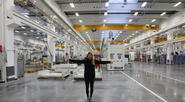 Rießige Produktionshallen - Jobchallenge Allgäu - Grob © Allgäu GmbH