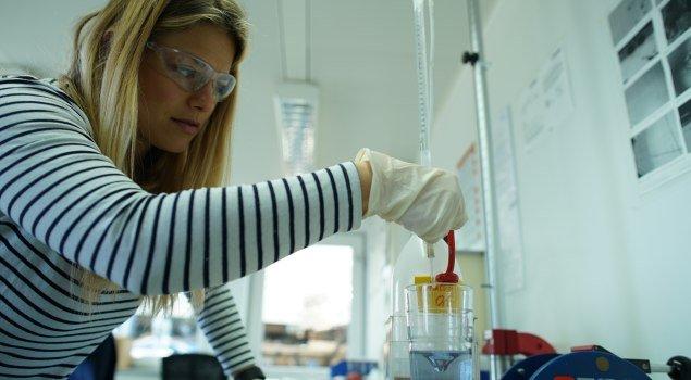 Meine naturwissenschaftlichen Kenntnisse kommen ganz auf ihre Kosten © Allgäu GmbH