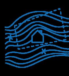 Icon Checkliste Bebauungsplan und Lage