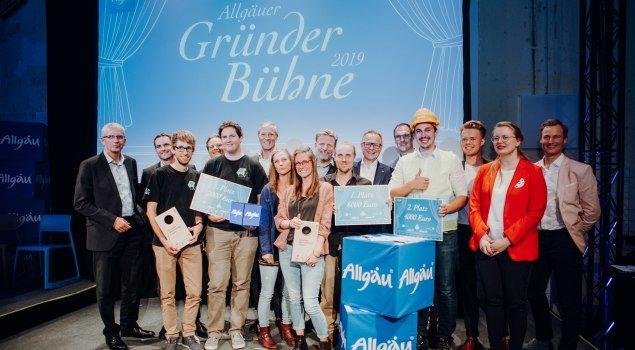 Allgäuer Gründerbühne 2019 © Allgäu GmbH, Philip Herzhoff